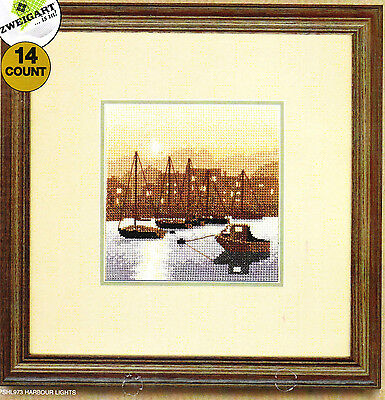 Heritage Crafts - Silhouettes - Counted Cross Stitch Kit -  Harbour Lights