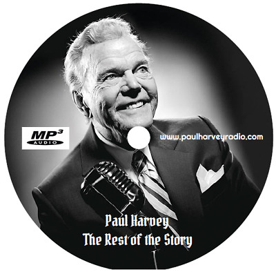 Paul Harvey - 'the Rest Of The Story' (651 Shows) Otr Mp3 Cd