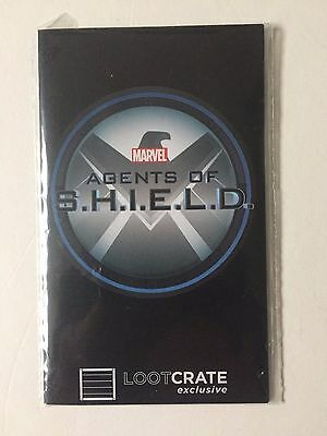 Marvel's Agents Of Shield Id Card Lanyard Efx Lootcrate Coulson Nick Fury Sealed