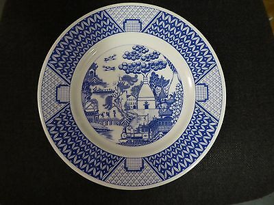 Gladstone Potteries  Museum WILLOW  1985 Commenorate Plate