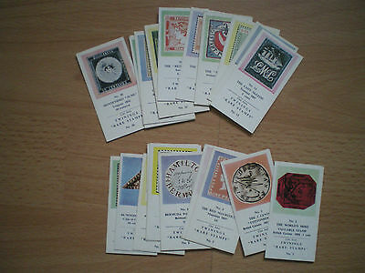 Collection Of Twinings Rare Stamps Tea Cards