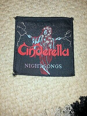 Cinderella - Night Songs sew on patch