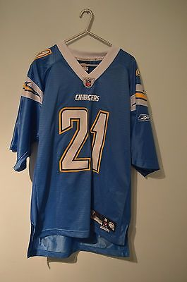 American football jersey NFL medium San Diego Chargers LA Tomlinson high quality