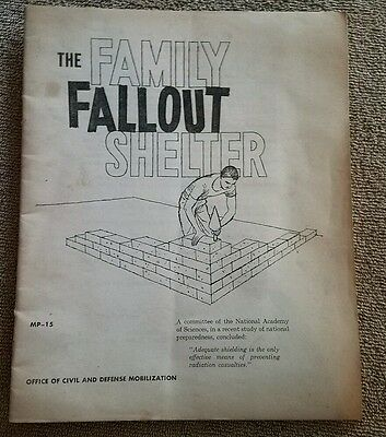 The Family Fallout Shelter - MP-15 - November 1959