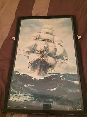 Framed Picture Of The Flying Cloud