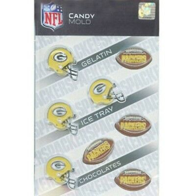 NFL Football Chocolate Candy Mold - Green Bay Packers
