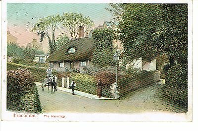"""PPC Of """" Ilfracombe , The Hermitage """" posted 1905"""