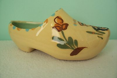 Vintage Hartrox Pottery Clog