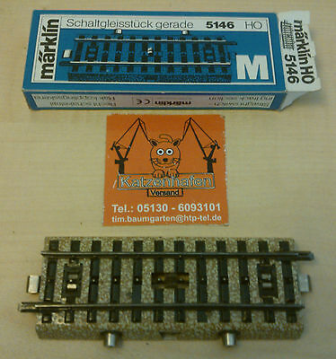 Märklin H0 5146 Switch track straight tested ( WITHOUT ORIGINAL BOX