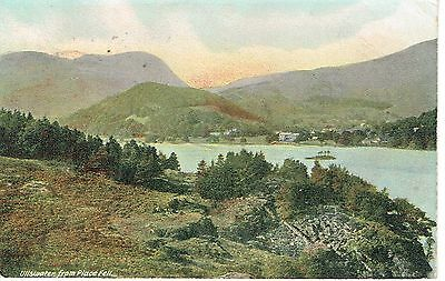 """PPC Of """" Ullswatwer, From Place Fell  """" posted 1905"""