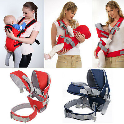 Breathable Ergonomic Adjustable Wrap Sling Baby Carrier Infant Newborn Backpack