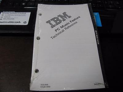 Vintage Ibm Pc Music Feature Technical Reference Manual Sealed