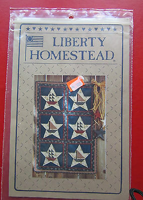 PATTERN, INSTRUCTION, TEMPLATES  - STAR SHIPS small Quilt by Liberty Homesteads
