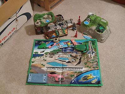 X 2 Tracy Islands - Thunderbirds Inc Playmat with sounds  vehicles