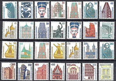 Germany -  TOURIST SIGHTS - FULL SET of 28 - Mint never hinged st