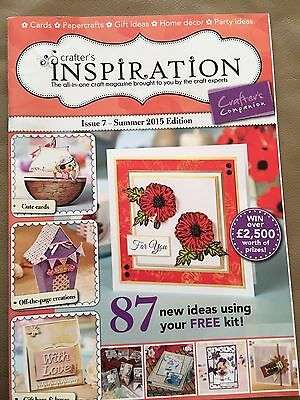 Crafters Inspiration Issue 7-Summer 2015 Edition by Crafters Companion