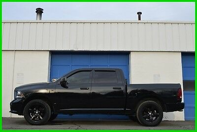 2014 Ram 1500 Tradesman Express Black Group 5.7L Hemi 8 Speed ++ Repairable Rebuildable Salvage Lot Drives Great Project Builder Fixer Easy Fix