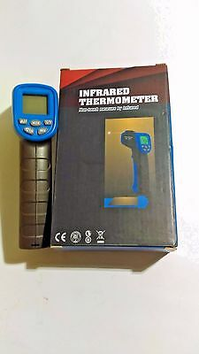 Non-contact Digital Laser IR Infrared Thermometer Data Hold Temperature Gun