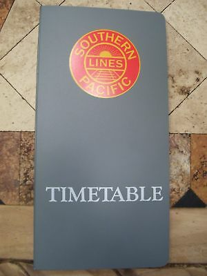 Southern Pacific Full System Set Employee Timetable #1 October 25,1992--Mint