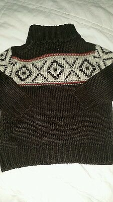 Baby boys winter style jumper 12-18 months