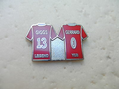 United Badge - Giggs 13 Gerrard 0 - Manchester