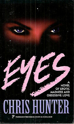 Eyes by Chris Hunter, Pinnacle Books 1st edition paperback, July 1996
