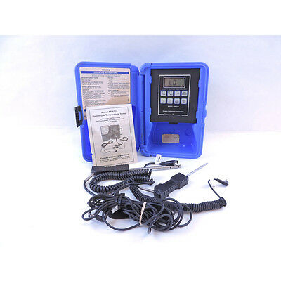 Cooper-Atkins SRH77A-E 1 and 2 Zone Temperature/Humidity Digital Instrument