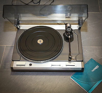 platine vinyle thorens td115 mkii emballage d 39 origine. Black Bedroom Furniture Sets. Home Design Ideas