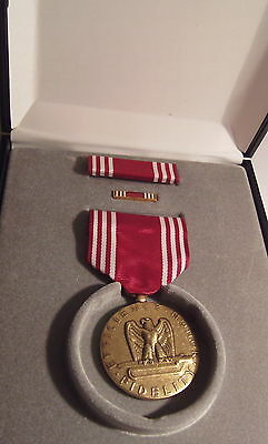 U.S. Army Good Conduct Medal Set in Presentation Case