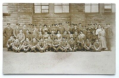 WW1 RP PC - Postal, Factory or Munitions Workers, Various Regiments + Women