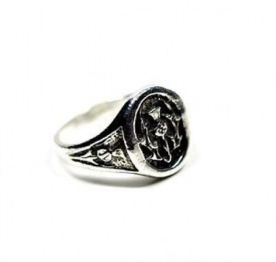 New Scottish Celtic Thistle Ring Sterling silver 925