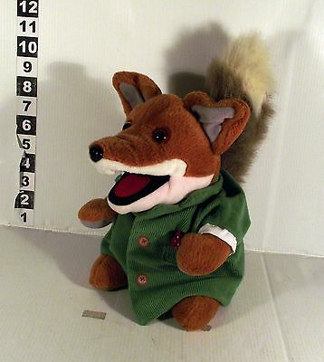 "Talking 10"" Basil Brush Hand Glove Puppet Soft Toy With Sound Ha Ha Ha Boom Boom"