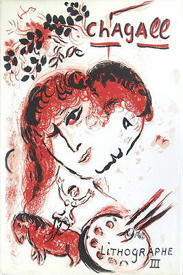 Marc Chagall, Lithographe III (1962-68) Catalogue Raisonne