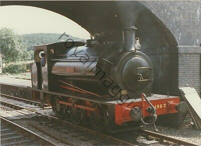 Colour print of 0-6-0 tank locomotive 1982, Ring Haw on the North Norfolk Rly