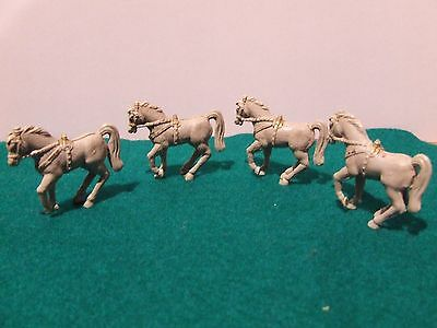 Four  Chipperfields Circus Ponies 1130 Model