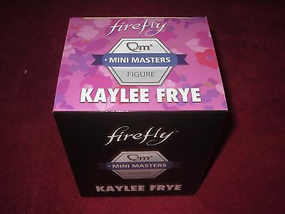 Firefly QMX FIGURE Mini Master KAYLEE FRYE FIGURE AND BOX! FREE SHIPPING!!