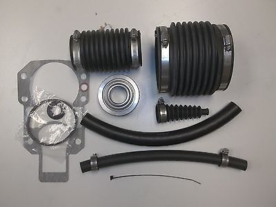 Alpha One GEN 1 Bellow Transom Seal Repair Gimbal Bearing drive shaft rebuild