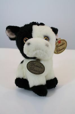 "Yomiko Classics Russ Cow Newborn Plush Stuffed Animal Toy 7"" New"