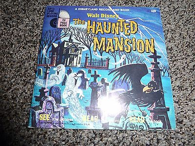 Disney's the Haunted Mansion Record and Book