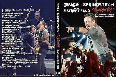 Bruce Springsteen. 2013. Brazil. Rock In Rio. Awesome Pro-Shot. Dvd.