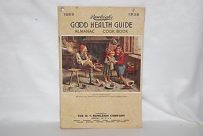 1938 Rawleigh's Good Health Guide Almanac/Cookbook - 32 pages