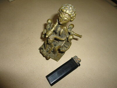 Old brass or bronze figure from ?