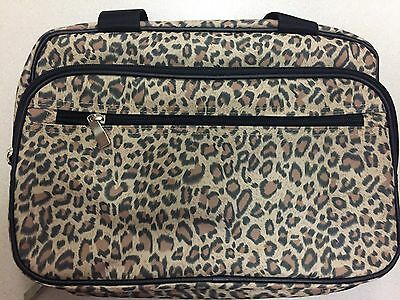 Household Essentials Double Sided Travel Kit Leopard Print 6735-1 New