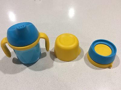 TUPPERWARE GROW WITH ME CUP or TUMBLER BNIP (Baby Toddler Sippy Or Training Cup)