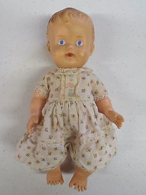 Vintage Sun Rubber Co. Ruth E. Newton Sunbabe So Wee 1957 Toy Baby Doll