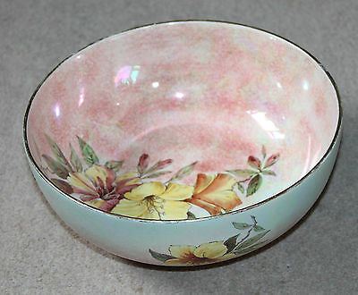 A Large & Rare Royal winton Grimwades Mother of Pearl Punch Bowl