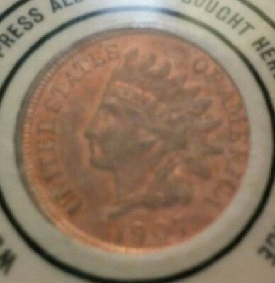 1907 Indian Cent Encased Mirror 999 Store St. Louis, MO