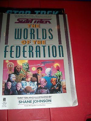 Star Trek The Worlds Of The Federation  + Chronology