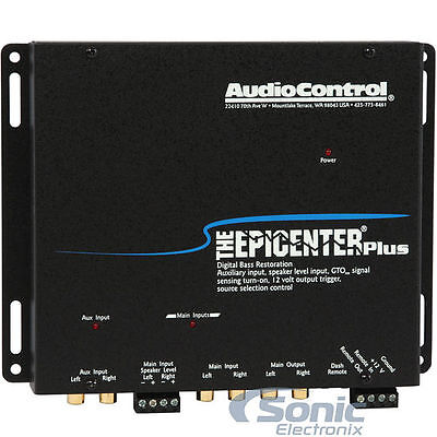 AudioControl The Epicenter Plus Restoration Processor with Hi Level input + Aux