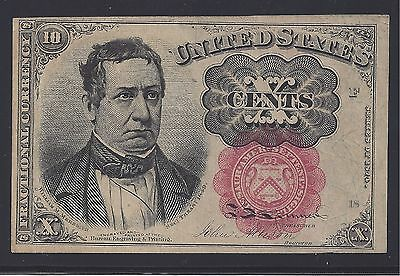 USA 10c Fractional Currency Fifth Issue 1874-1876